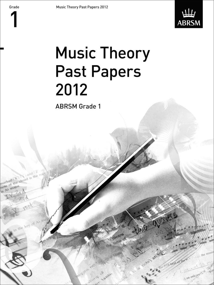 Music Theory Past Papers 2012 Grade 1