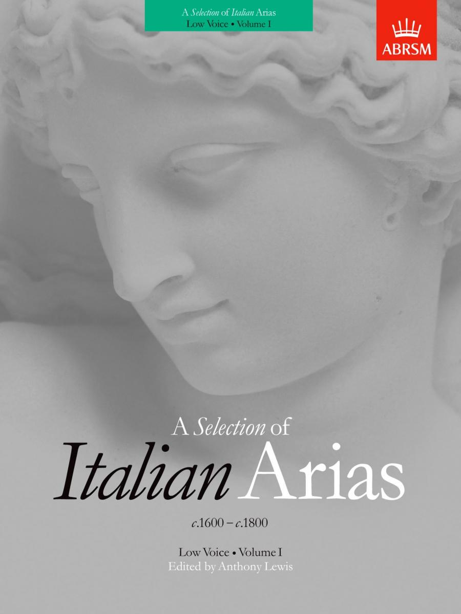 A Selection of Italian Arias 1600-1800 Vol. 1