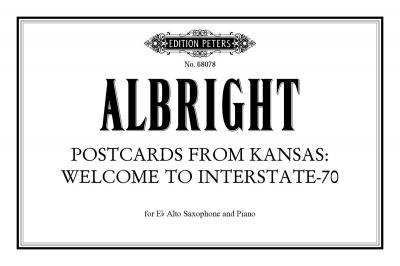 Postcard from Kansas: Welcome to Interstate-7