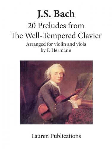 20 Preludes from The Well-Tempered Clavier