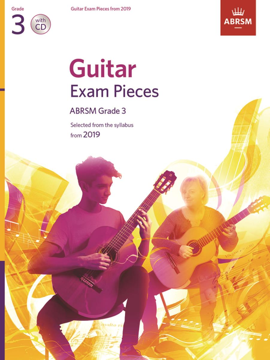 Guitar Exam Pieces from 2019 Grade 3 (Book and CD)