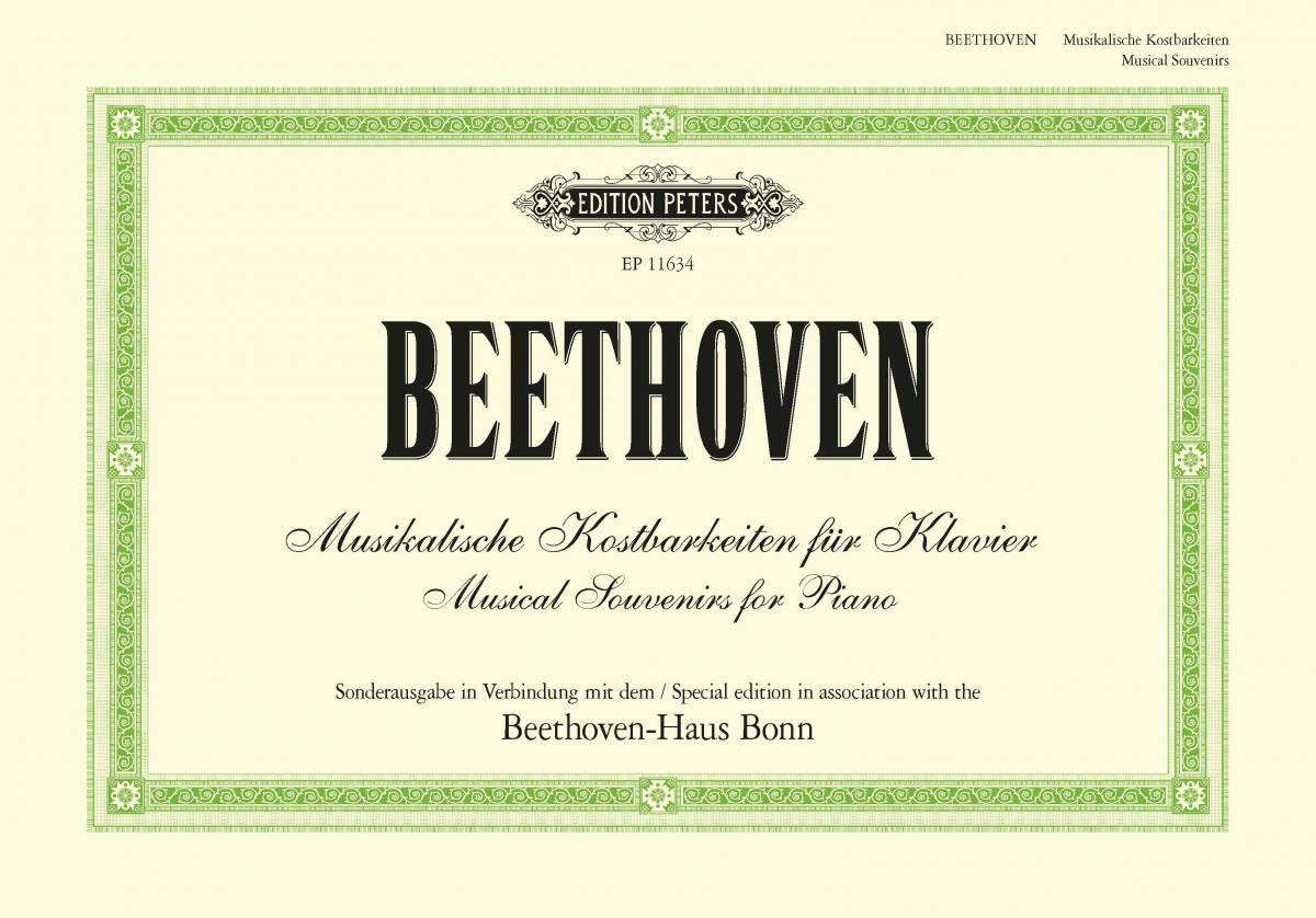 Beethoven Musical Souvenirs for Piano