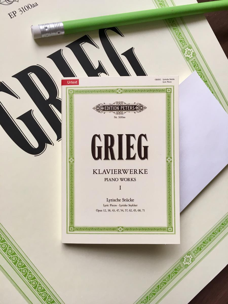 Grieg Piano Works, Vol. 1 Sticky Notes