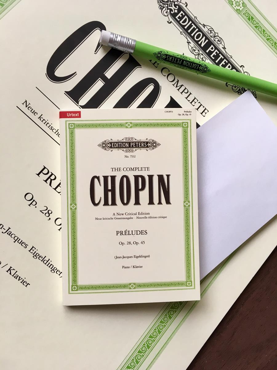 Chopin Préludes Sticky Notes