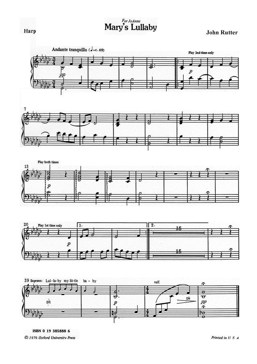MARY S LULLABY DOWNLOAD