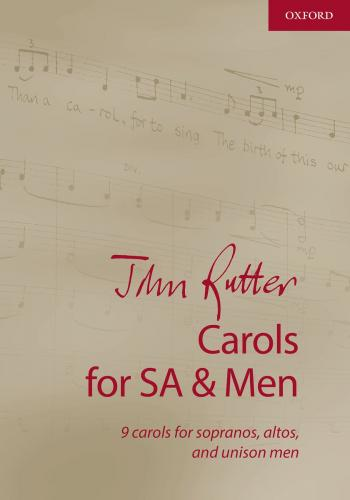 John Rutter Carols for SA and Men