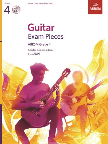 Guitar Exam Pieces from 2019 Grade 4 (Book an