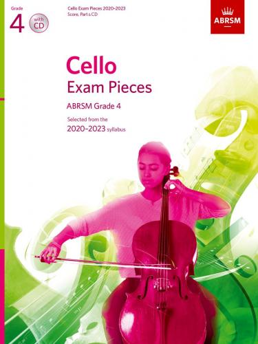 Cello Exam Pieces 2020-2023 Grade 4
