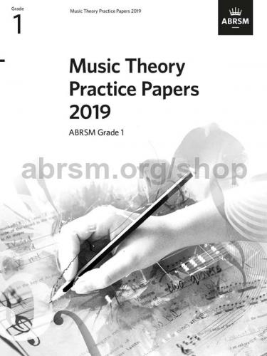 Music Theory Practice Papers 2019 Grade 1