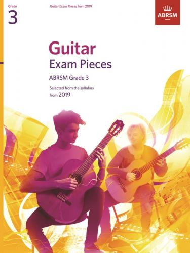 Guitar Exam Pieces from 2019 Grade 3