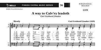 A way to Calv\'ry leadeth