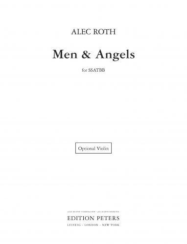 Men and Angels, optional violin part