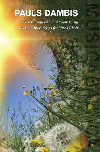Cycle of Three Songs for Mixed Choir