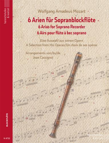 6 Arias for Soprano Recorder