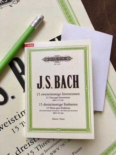 Bach Inventions & Sinfonias Sticky Notes