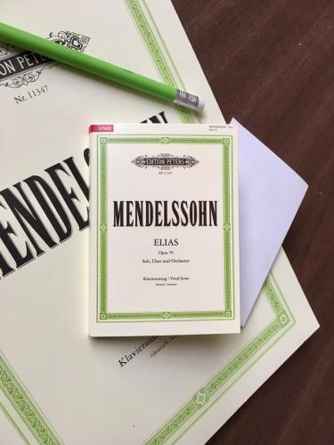 Mendelssohn Elijah Sticky Notes