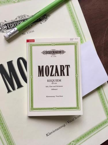 Mozart Requiem Sticky Notes