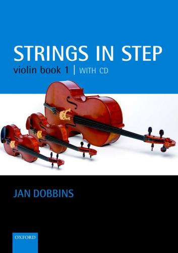 Strings in Step Violin Book 1 (Book and CD)