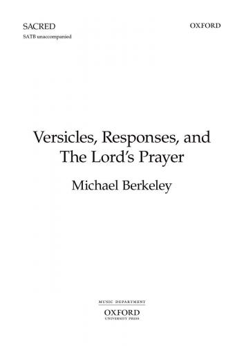 Versicles, Responses, and The Lord's Prayer