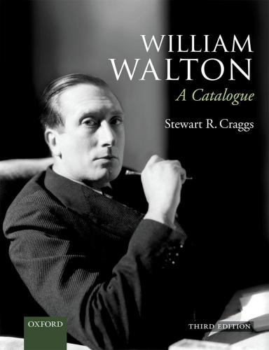 William Walton: A Catalogue