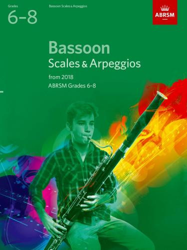 Bassoon Scales & Arpeggios Grades 6-8 from 20