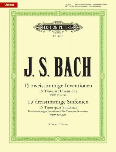 Complete Inventions and Sinfonias BWV 772-801