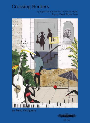 Crossing Borders for Piano Duet, Book 2